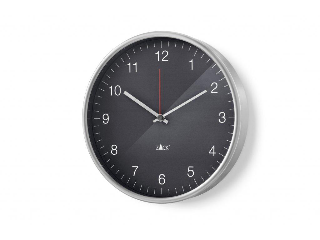 Nástěné hodiny černé PALLA ZACK