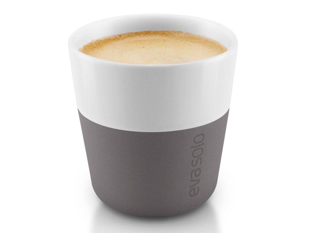 Termošálky na espresso 80 ml 2 kusy šedé, Eva Solo
