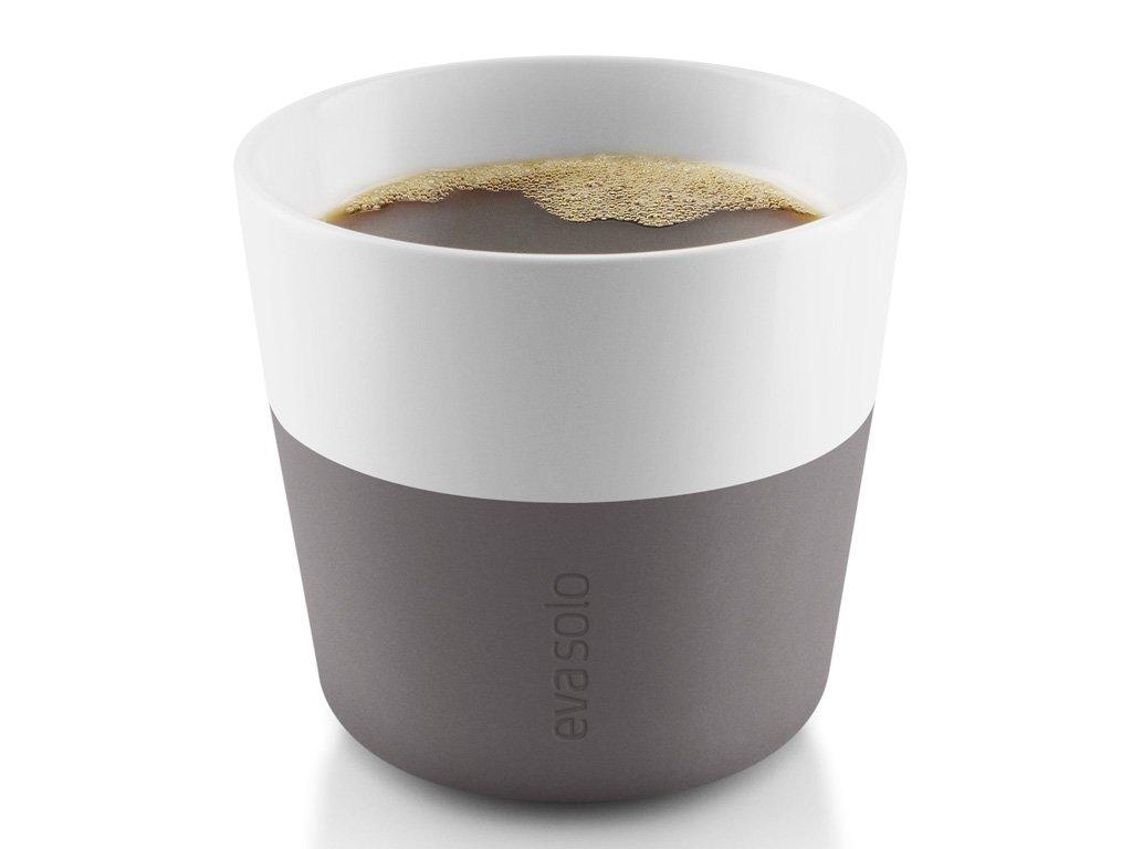 Termohrnky na kávu Lungo 230 ml 2 kusy šedé, Eva Solo