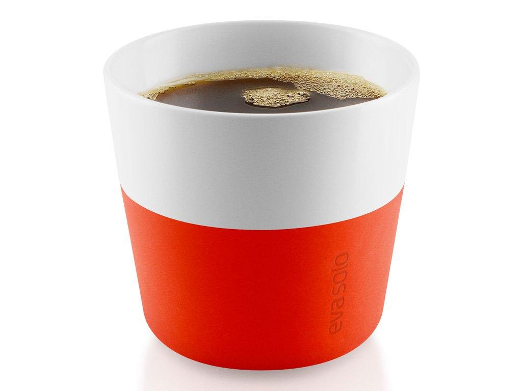 Termohrnky na kávu Lungo 230 ml 2 kusy oranžové, Eva Solo