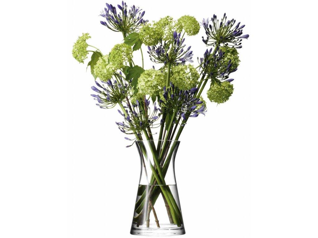 LSA Flower váza vysoká, 29cm, čirá