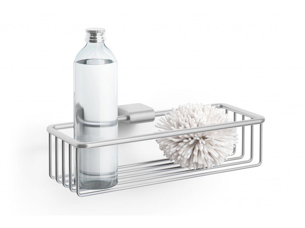Košík do sprchy nerezový broušený atore ZACK