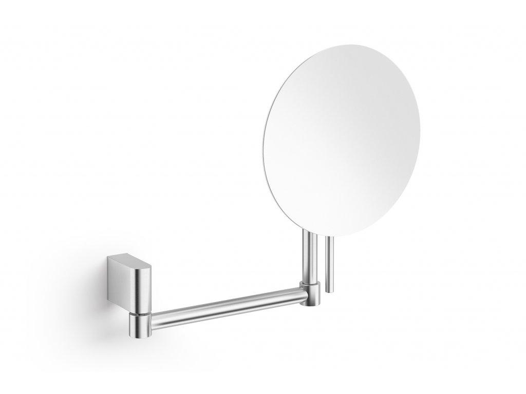 Kosmetické zrcadlo kulaté nerezové broušené atore ZACK