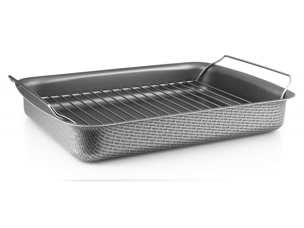 202029 Roasting pan with rack 30x22 rack HIGH