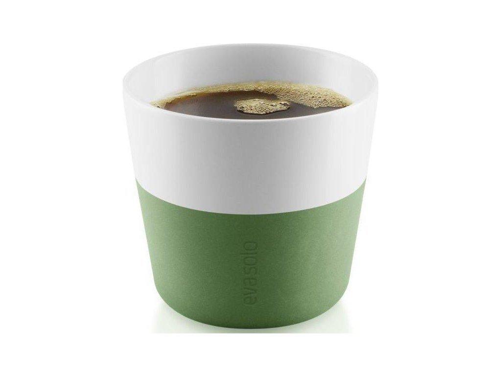 81017 hrnky na kavu lungo botanicka zelena 230ml set 2ks 501062 eva solo