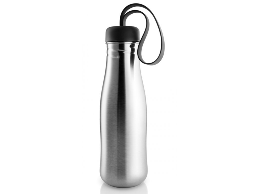 Láhev na pití 0,7l nerezová ocel/černá, Eva Solo