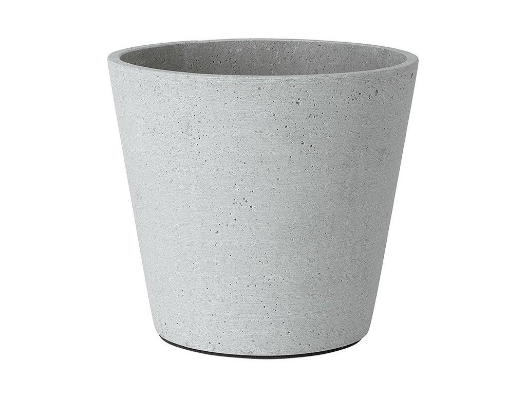 Květináč Coluna světle šedý Ø 18 cm BLOMUS