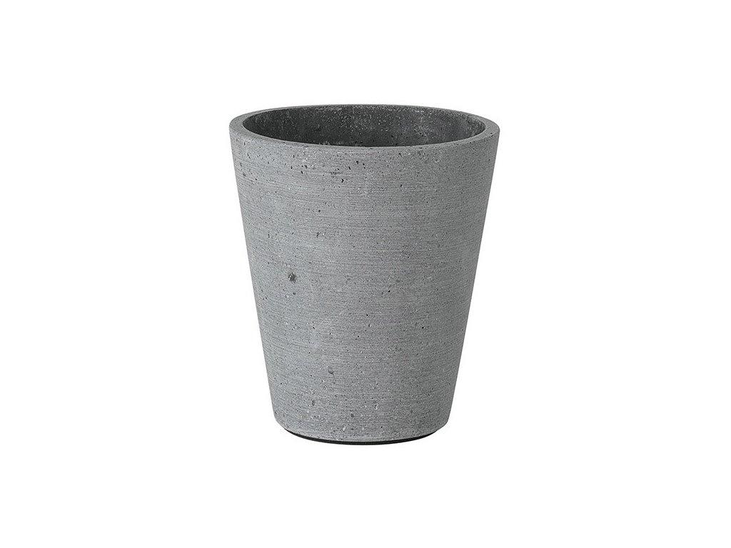 Květináč Coluna tmavě šedý Ø 11 cm BLOMUS