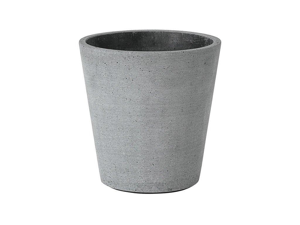 Květináč Coluna tmavě šedý Ø 14 cm BLOMUS