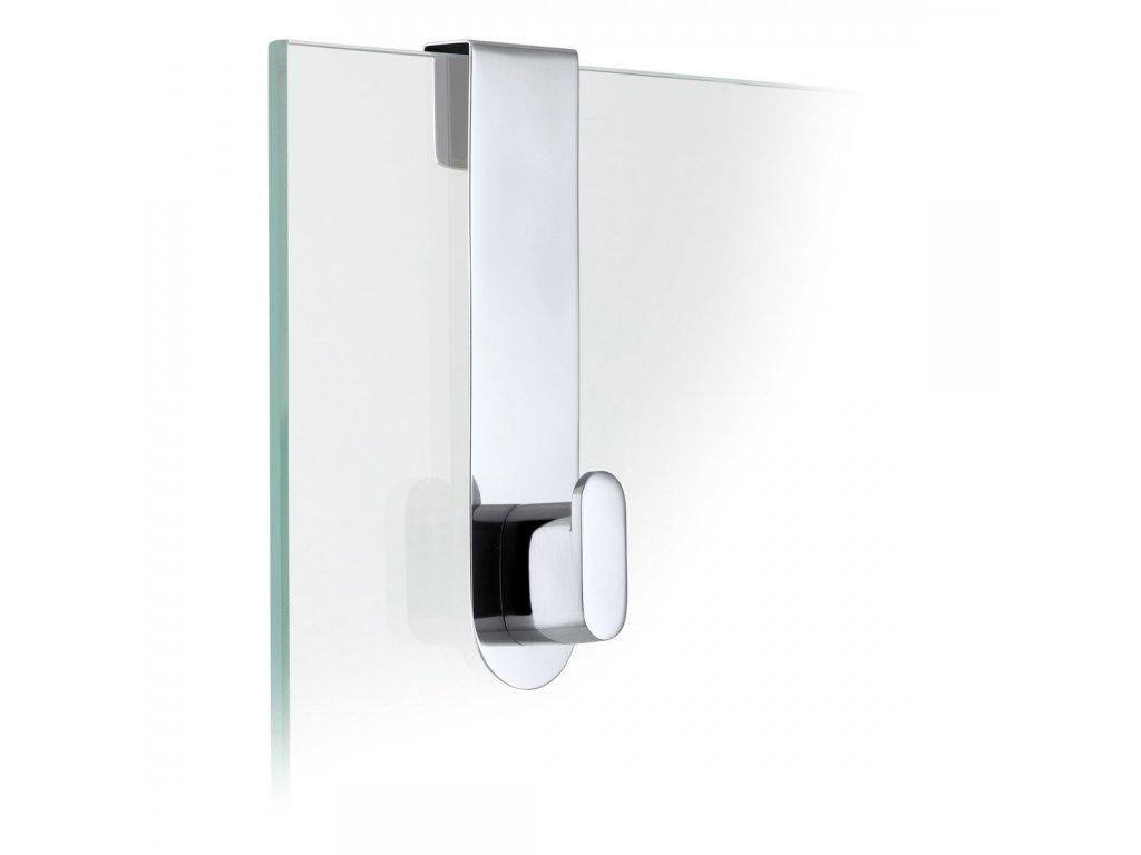 Háček na skleněné dveře AREO leštěný BLOMUS