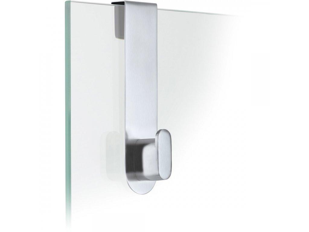 Háček na skleněné dveře AREO matný BLOMUS
