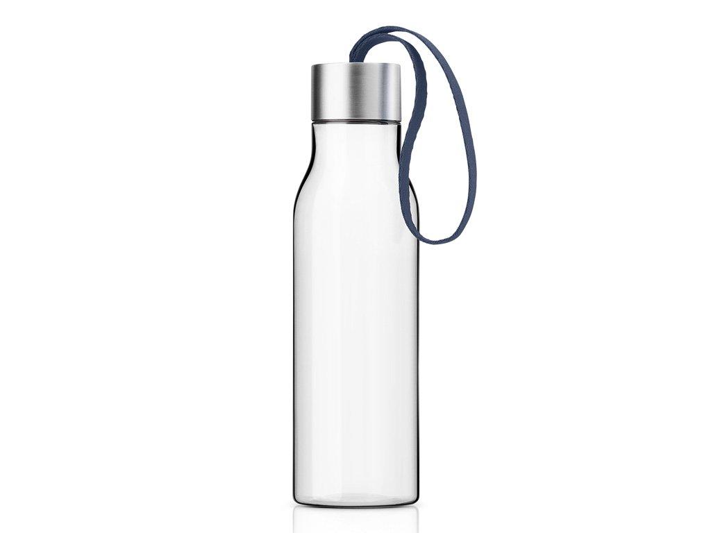 Lahev na pití 0,5 l s námořnicky modrým řemínkem, Eva Solo