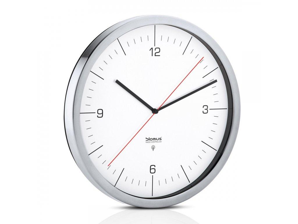 Nástěnné hodiny CRONO bílé Ø 30,5 cm BLOMUS
