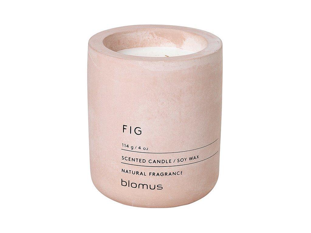 Vonná svíčka ze sójového vosku FRAGA světle růžová Ø 6,5 cm BLOMUS