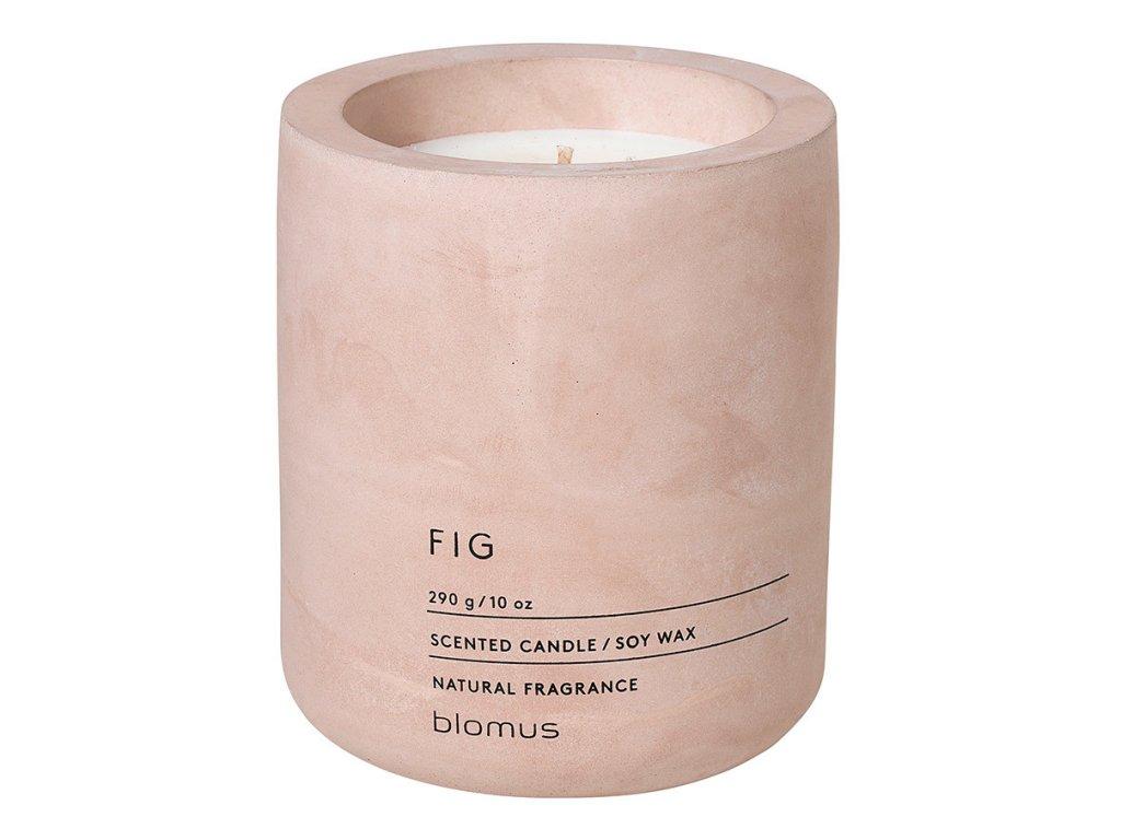 Vonná svíčka ze sójového vosku FRAGA světle růžová Ø 9 cm BLOMUS