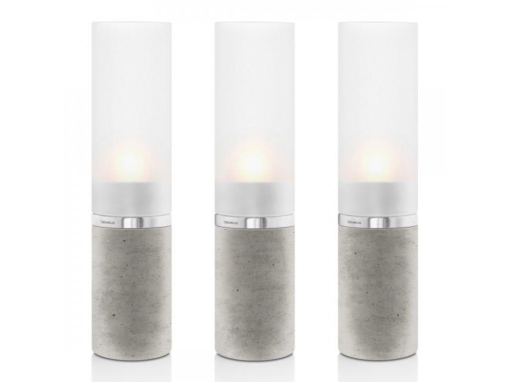 Set svícnů FARO beton Ø 5 cm BLOMUS