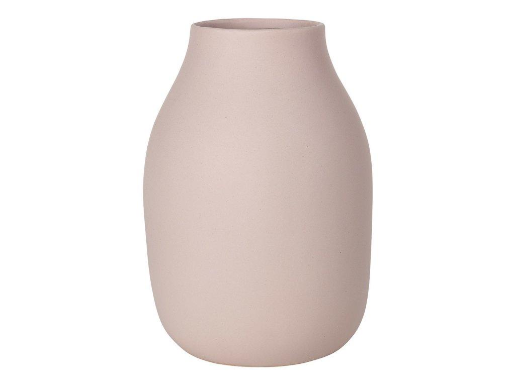 Váza COLORA světle růžová Ø 14 cm BLOMUS