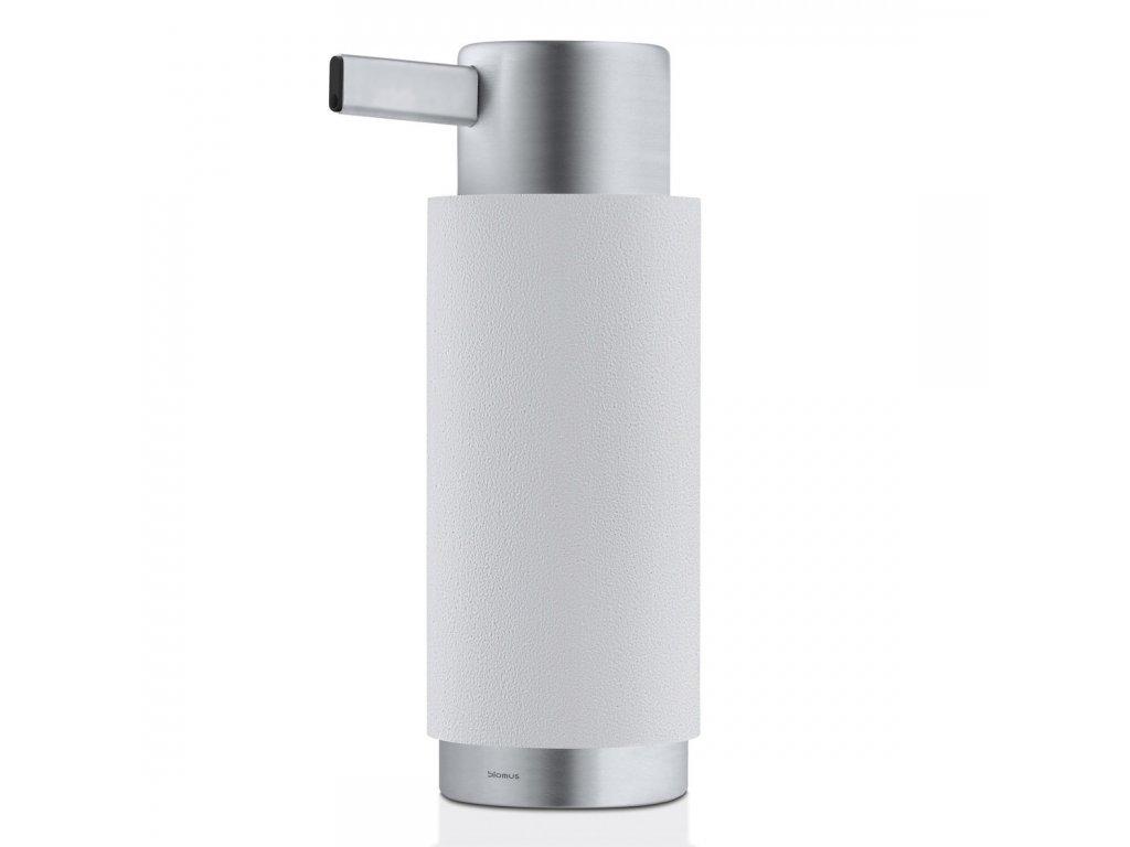Dávkovač tekutého mýdla matný nerez/popelavě šedý ARA BLOMUS