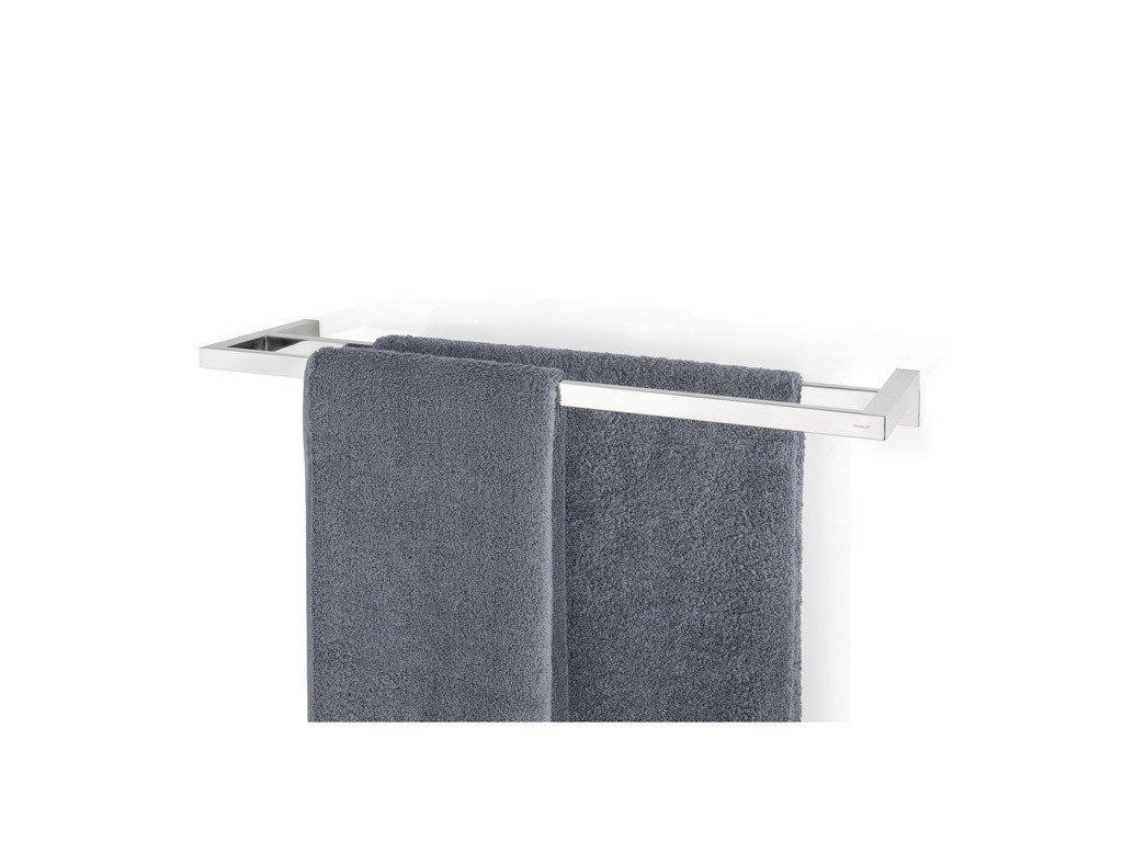 Dvojitý věšák na ručníky MENOTO leštěný nerez 64 cm BLOMUS