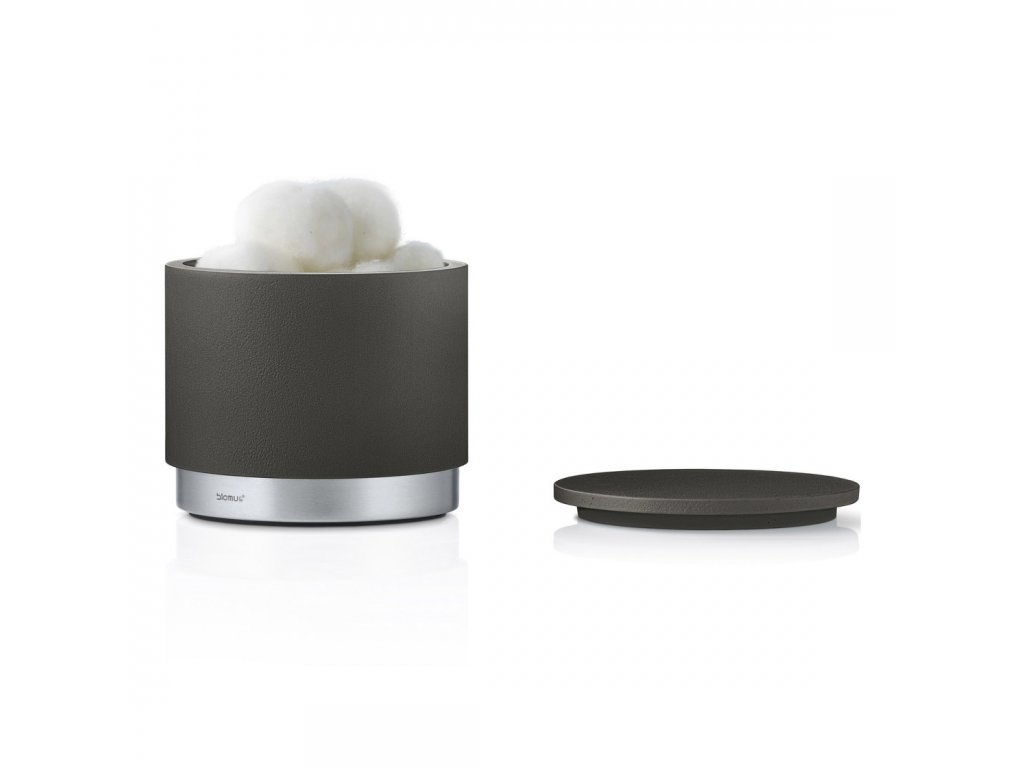 Úložný box na kosmetické potřeby antracitový ARA BLOMUS