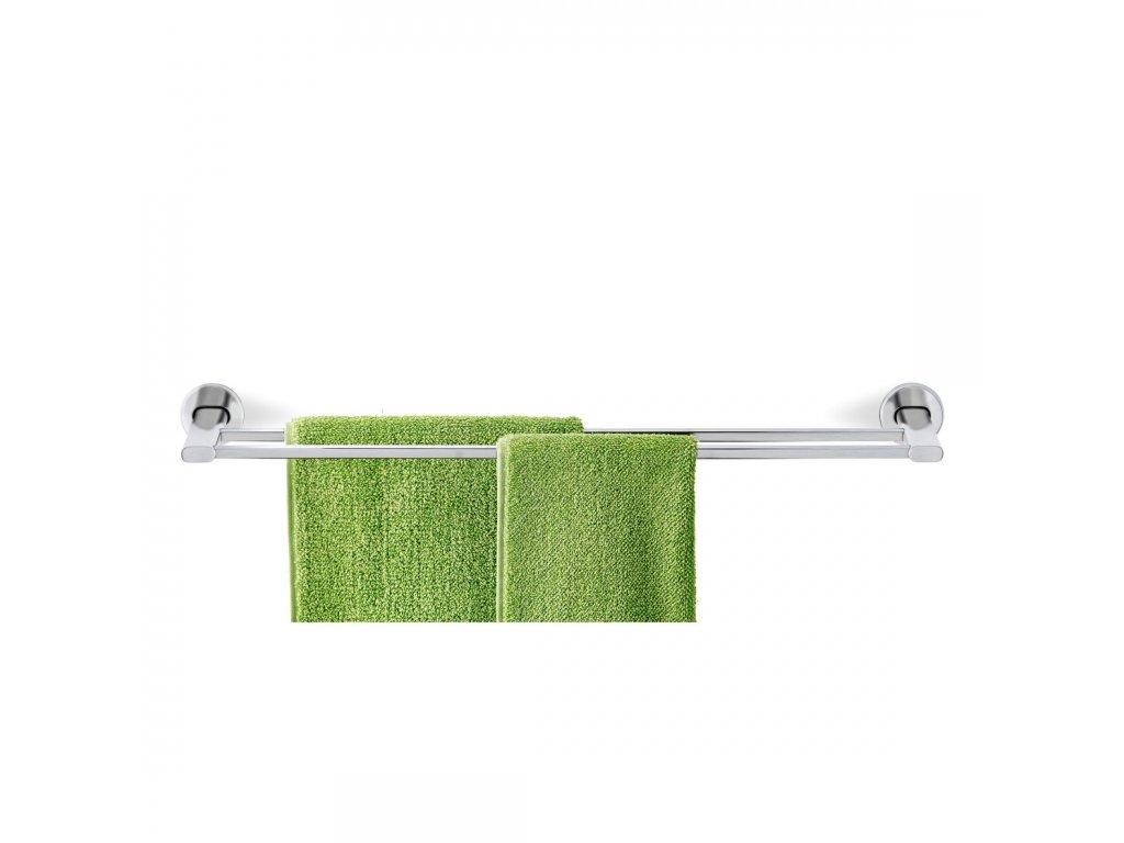 Dvojitý věšák na ručníky AREO matný nerez BLOMUS