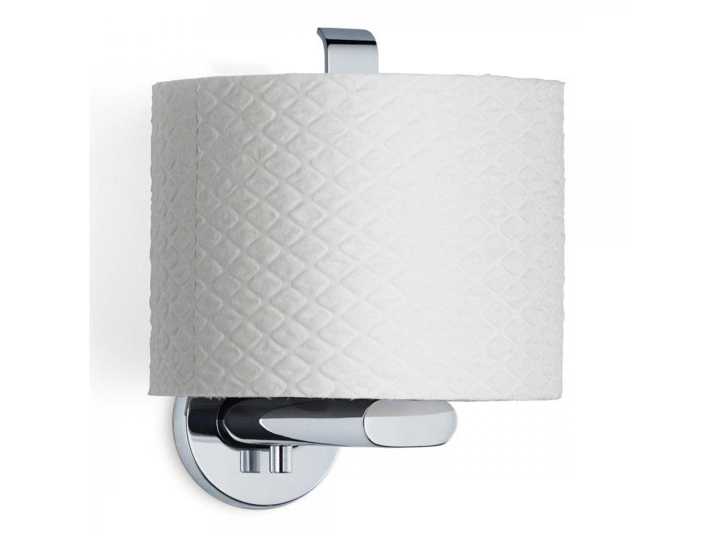Držák toaletního papíru AREO svislý leštěný nerez BLOMUS