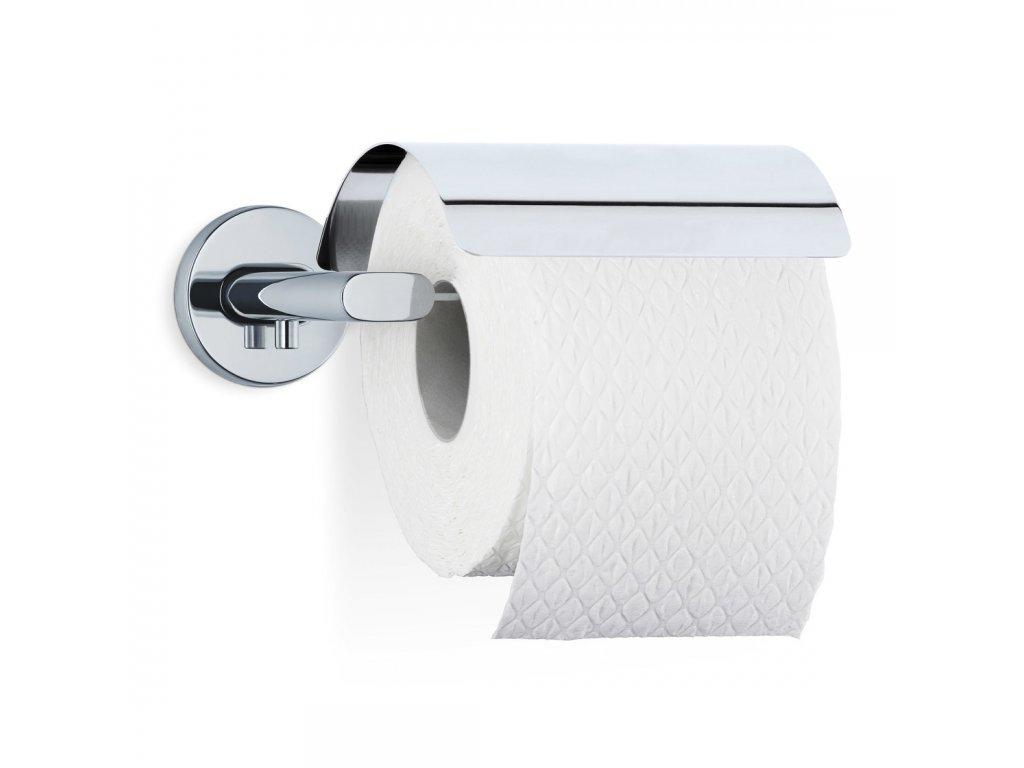 Držák toaletního papíru s krytem AREO leštěný nerez BLOMUS