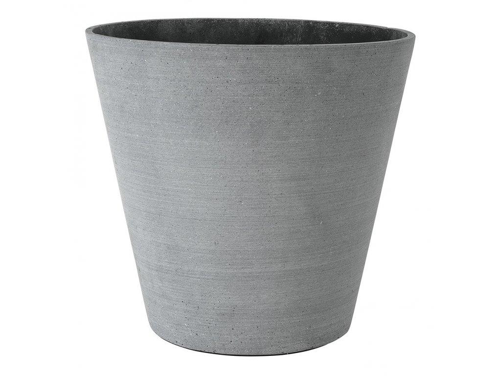 Květináč Coluna tmavě šedý Ø 34 cm BLOMUS