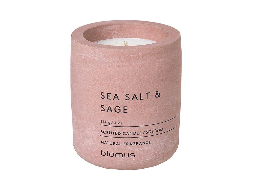 Vonná svíčka ze sójového vosku FRAGA cihlová Ø 6,5 cm BLOMUS