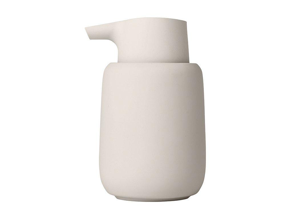 Dávkovač tekutého mýdla SONO krémový BLOMUS