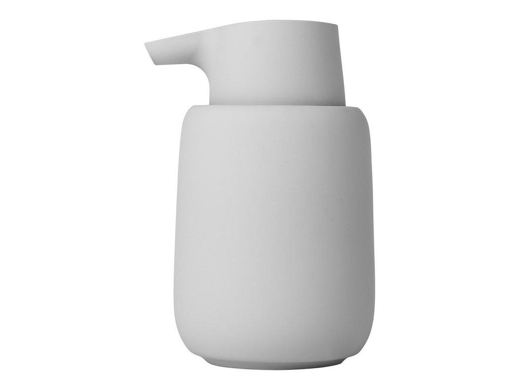 Dávkovač tekutého mýdla SONO světle šedý BLOMUS