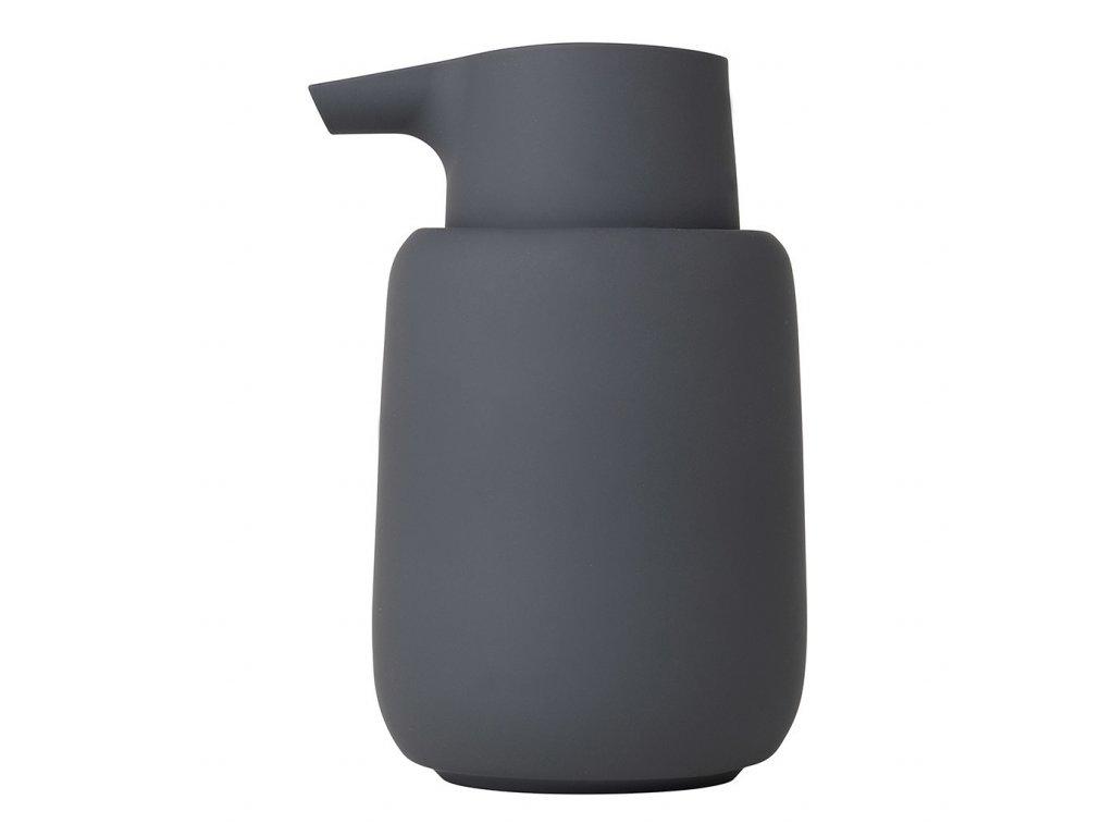 Dávkovač tekutého mýdla SONO šedočerný BLOMUS