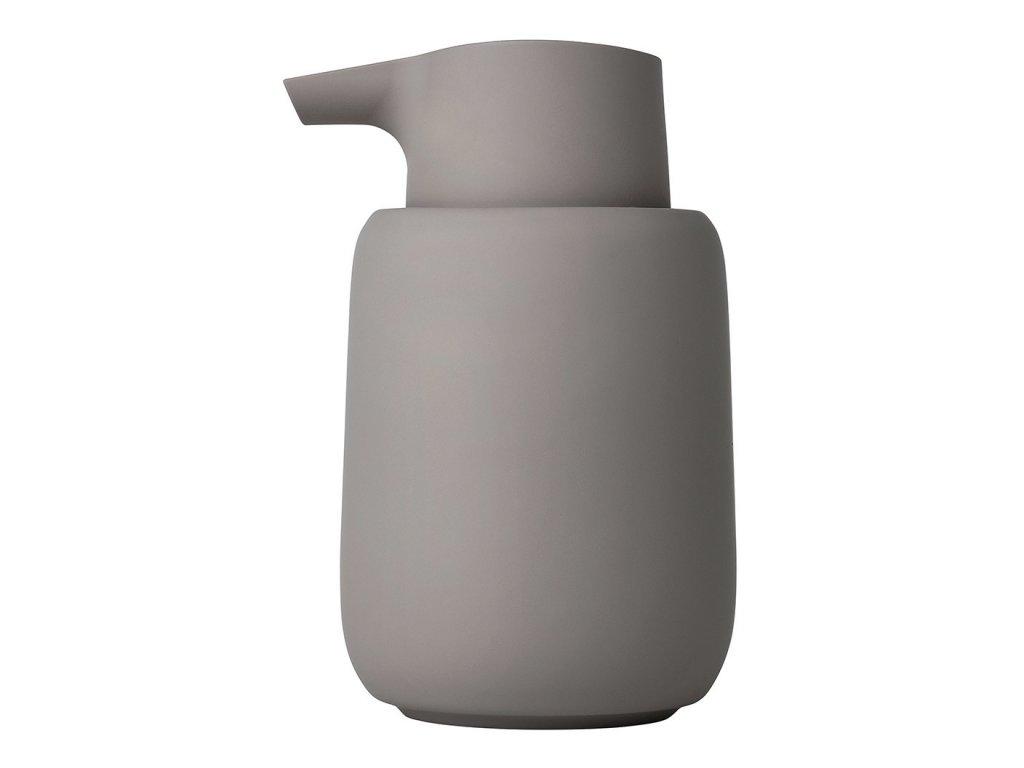 Dávkovač tekutého mýdla SONO taupe BLOMUS