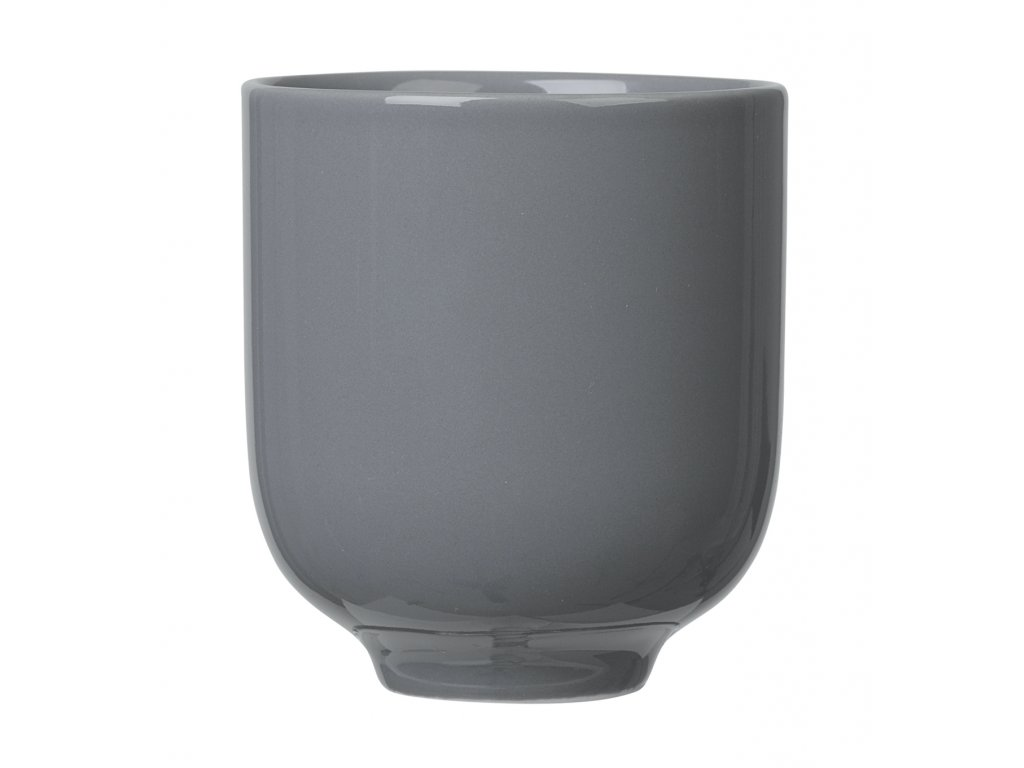 porcelánový hrníček tmavě šedý RO BLOMUS