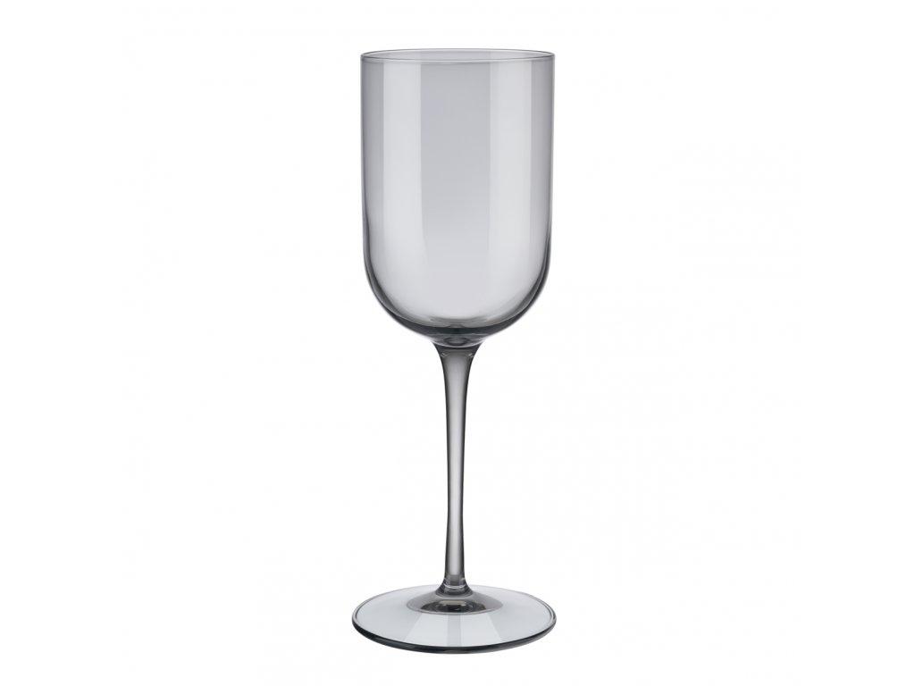 set 4 skleniček na bílé víno kouřové FUUM BLOMUS