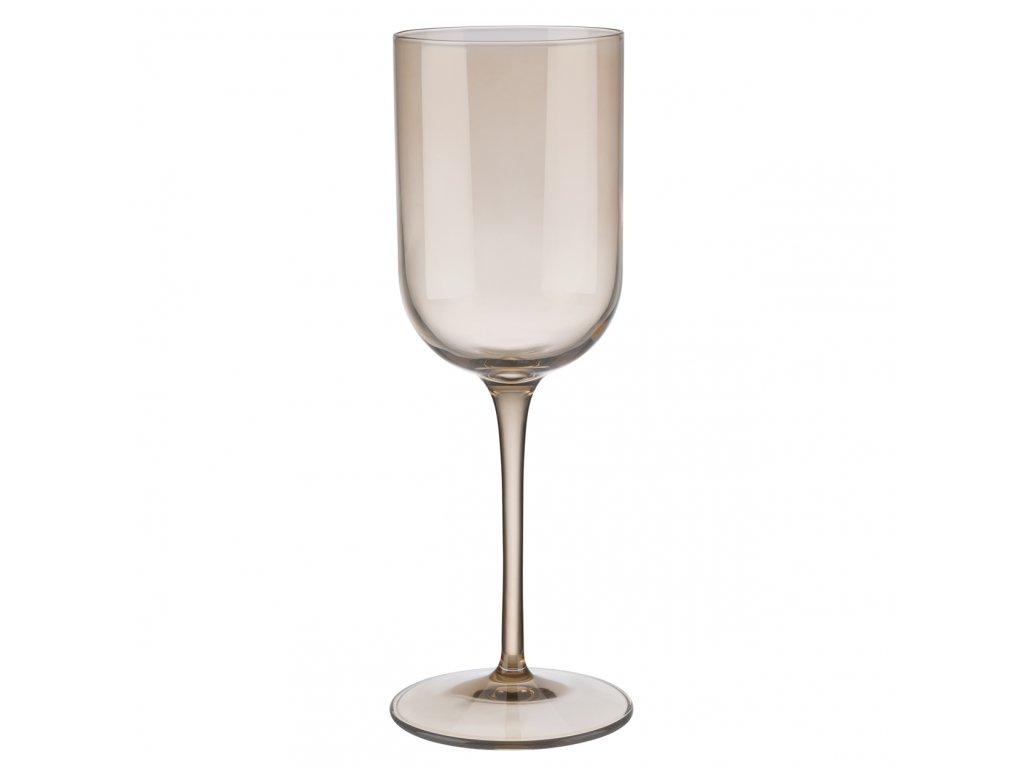 set 4 skleniček na bílé víno pískové FUUM BLOMUS