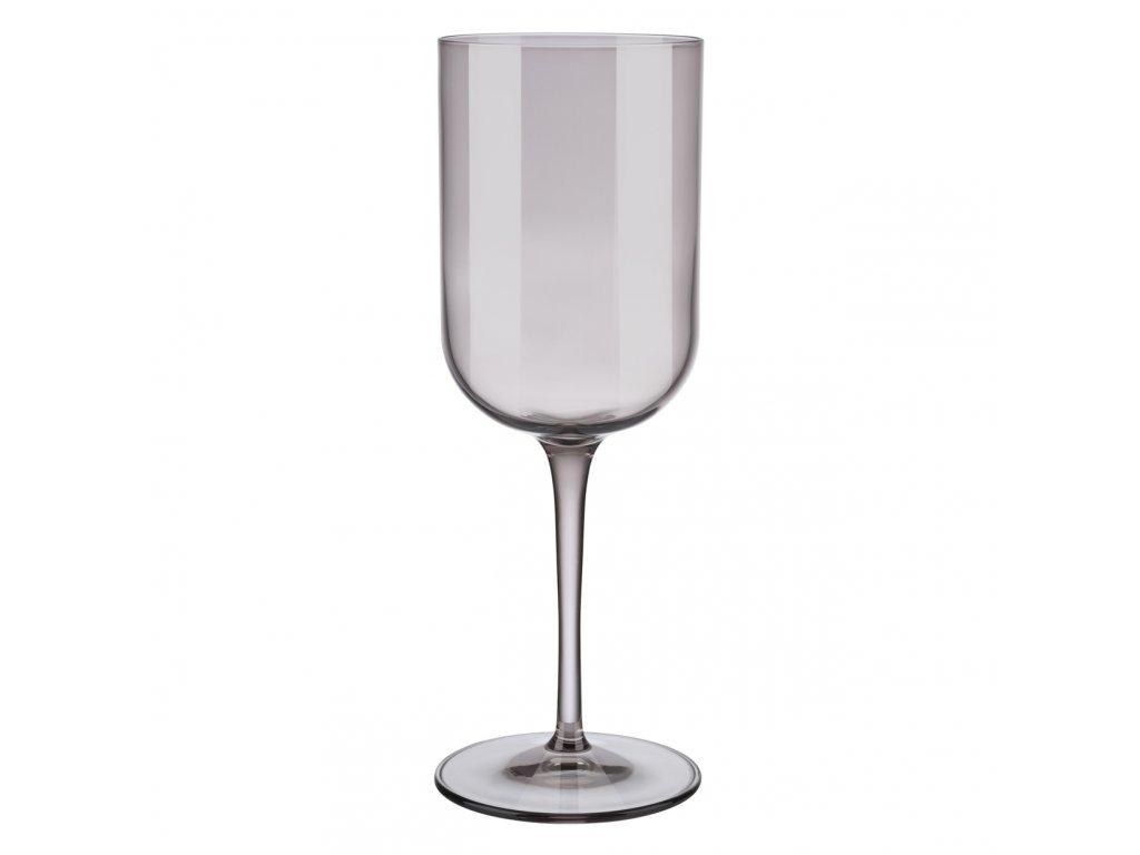 set 4 skleniček na červené víno hnědá FUUM BLOMUS