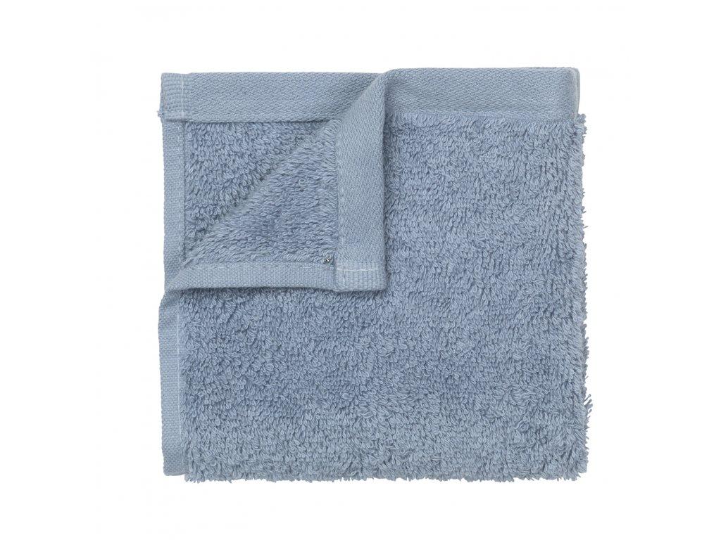 set 4 ručníků malých pastelově modrých RIVA BLOMUS