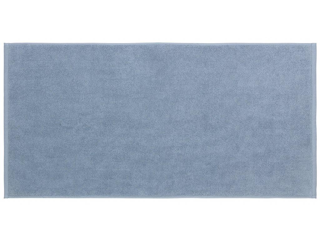 koupelnová předložka pastelově modrá větší PIANA BLOMUS