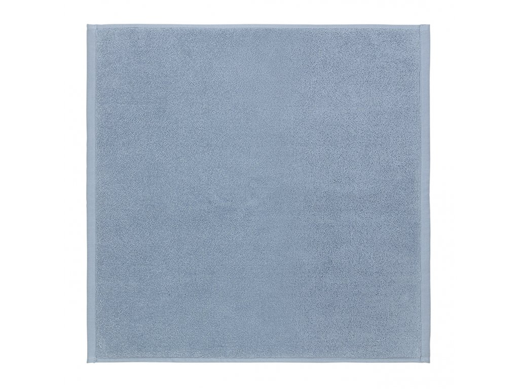 koupelnová předložka pastelově modrá menší PIANA BLOMUS
