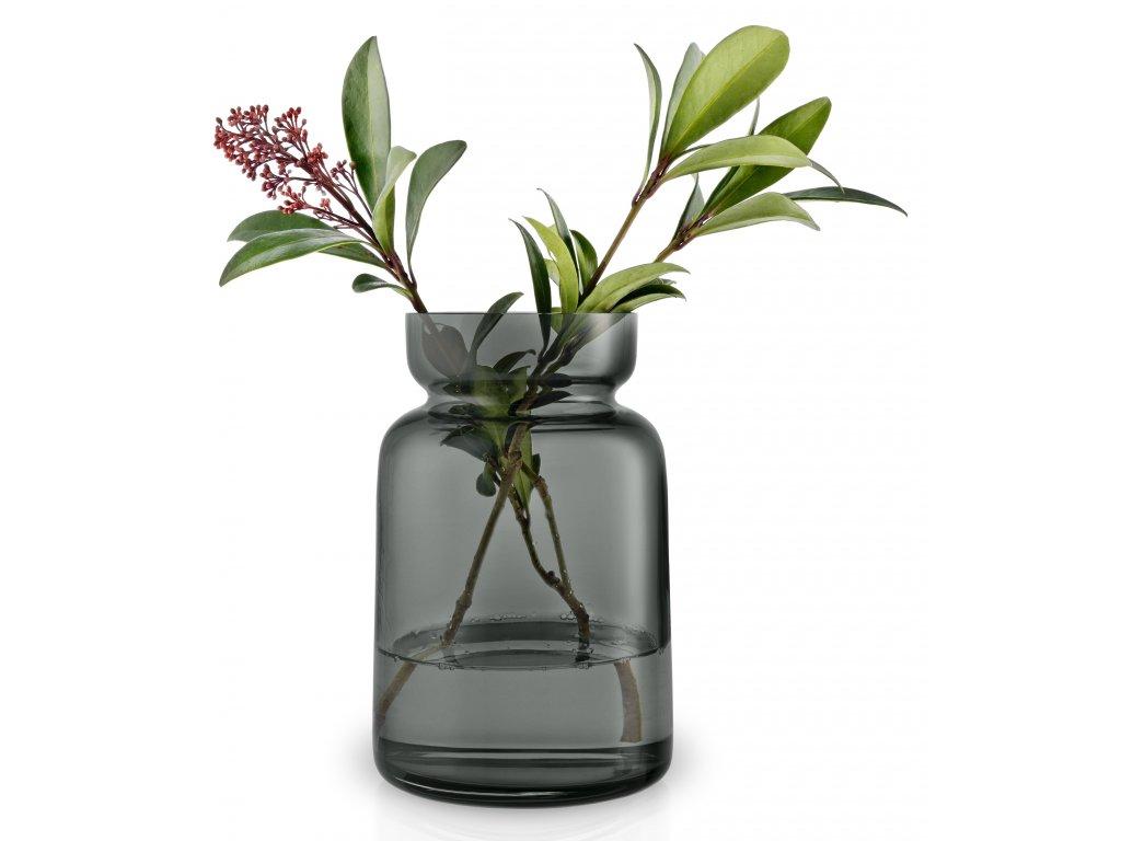 Váza z kouřového skla Silhouette 22 cm