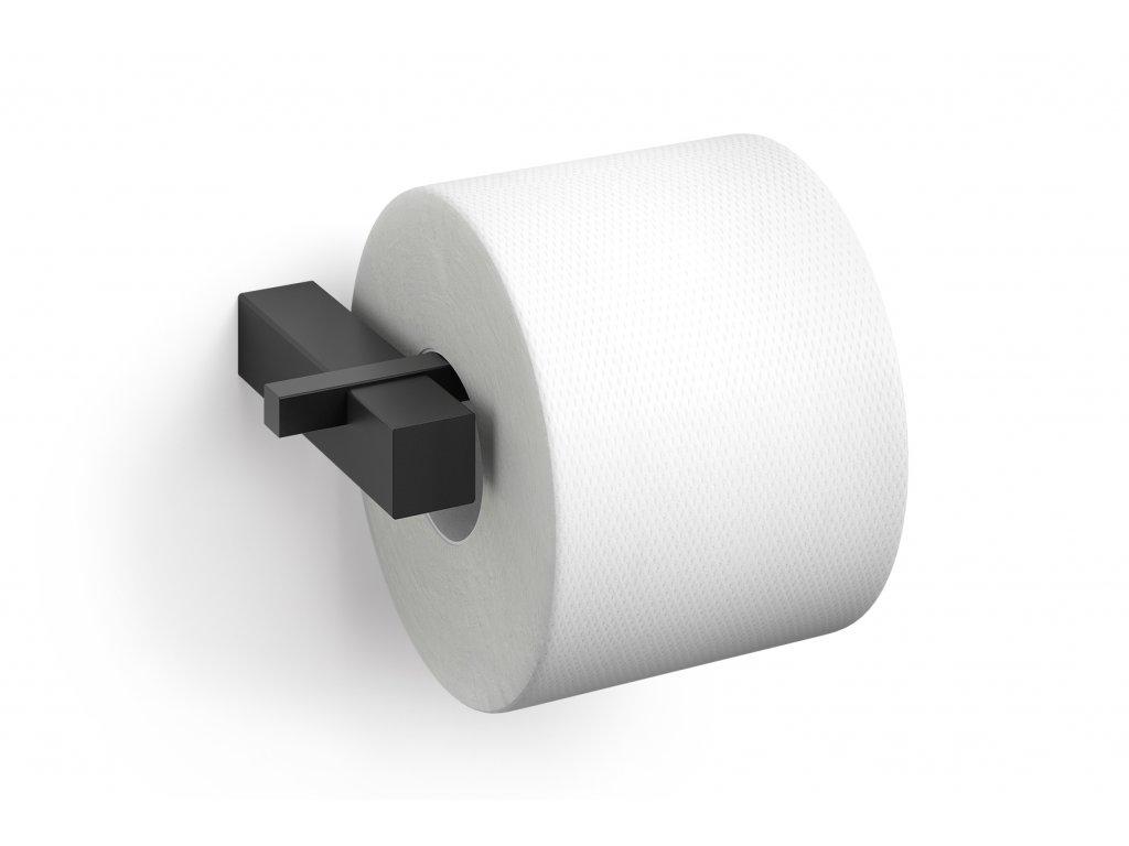 držák toaletního Papíru černý nerezový ZACK