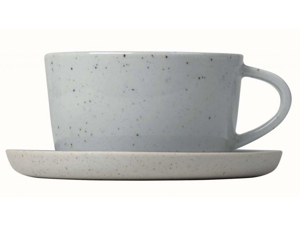 Set dvou hrnků na kávu s podšálky BLOMUS