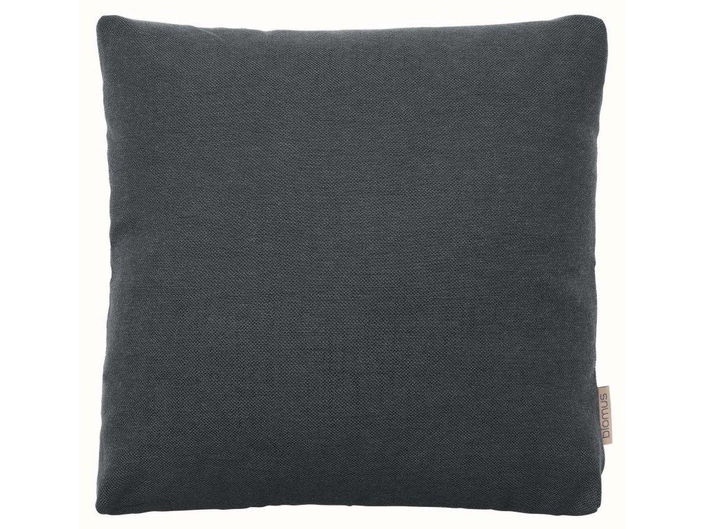 Povlak na polštář 45 x 45 cm tmavě šedý BLOMUS