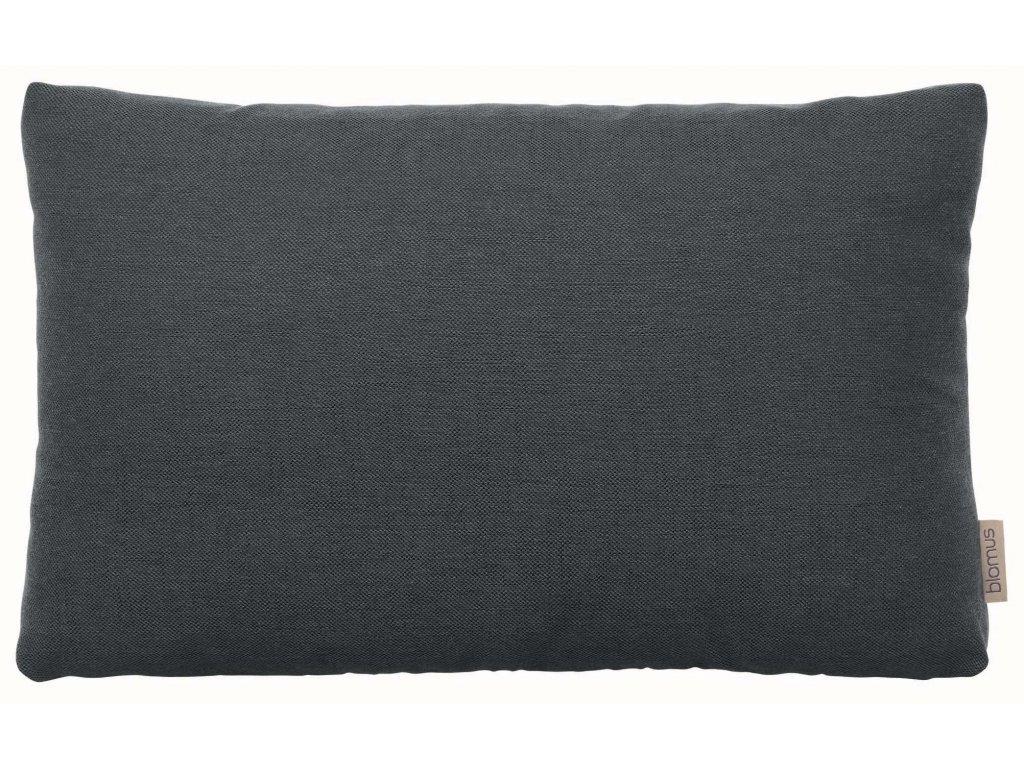 Povlak na polštář 60 x 40 cm tmavě šedý BLOMUS