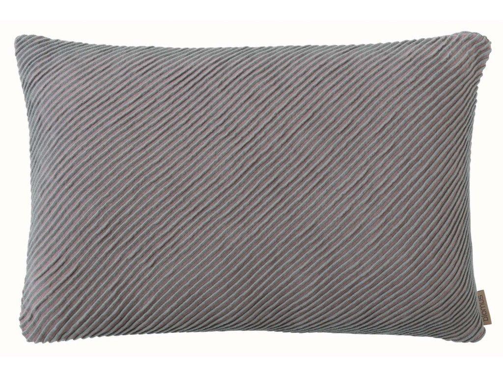 Povlak na polštář 40 x 60 cm starorůžová/šedohnědá BLOMUS