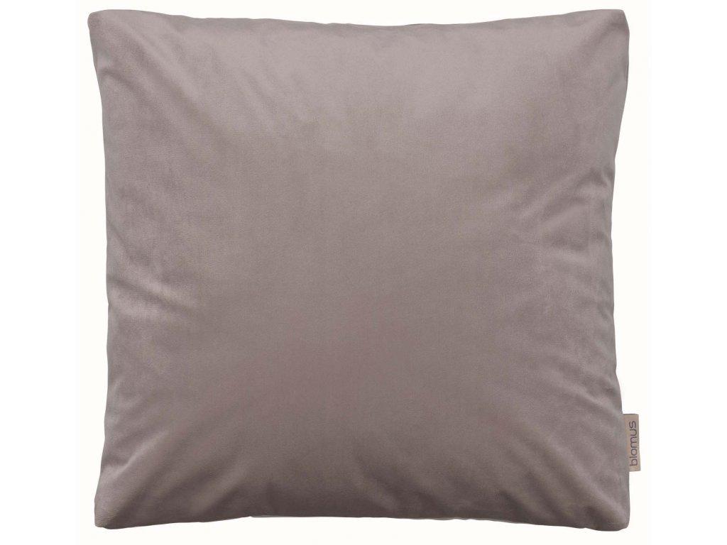 Sametový polštář 45 x 45 cm starorůžový BLOMUS