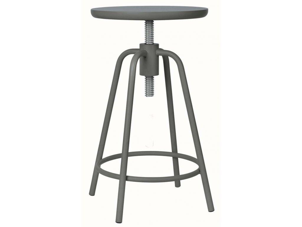 Otočná stolička šedá BLOMUS