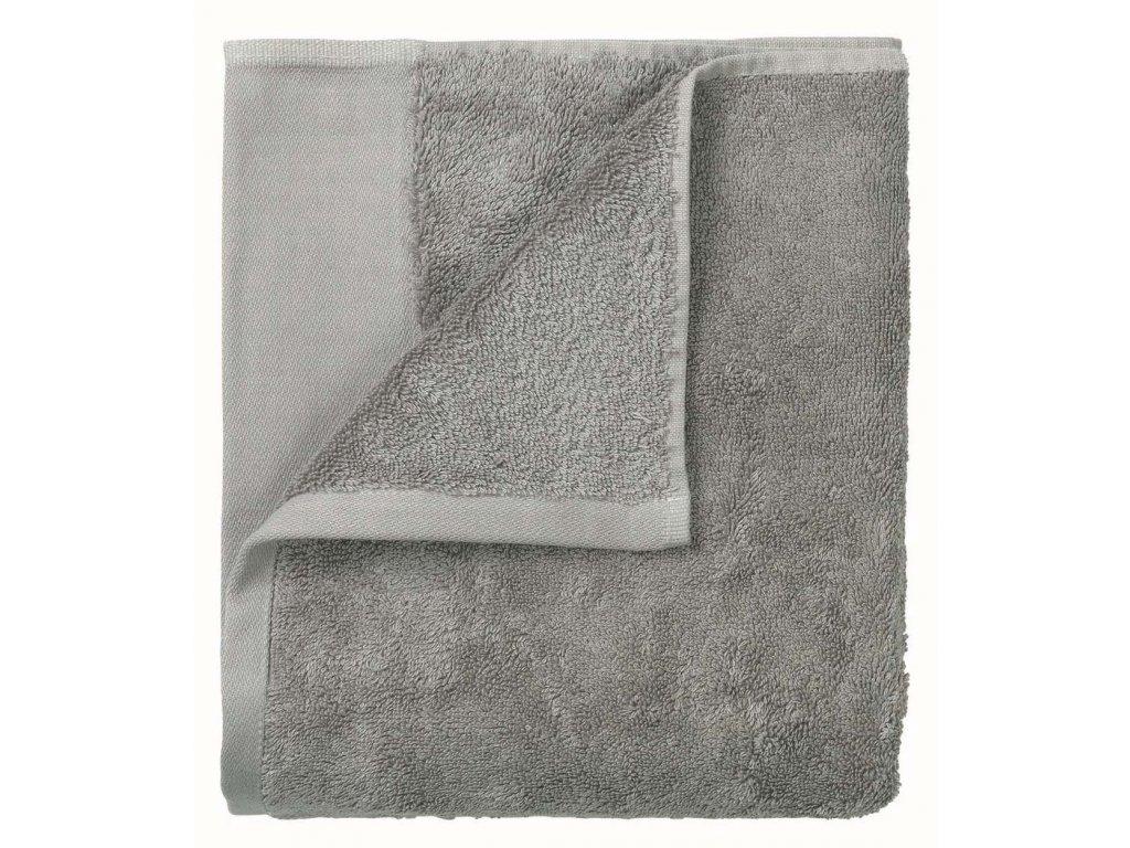 Set 2 ručníků 30 x 50 cm šedá BLOMUS