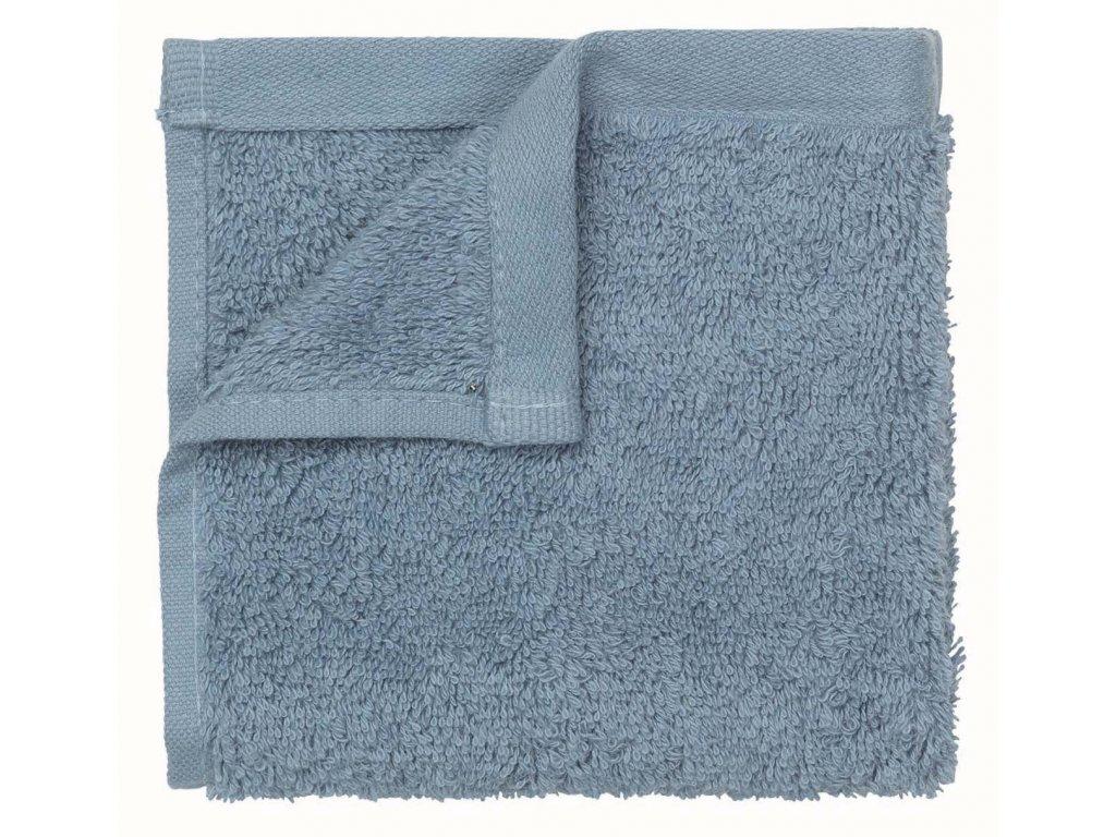 Set 2 ručníků 30 x 50 cm pastělově modrá BLOMUS